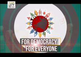 For Democracy, For Everyone